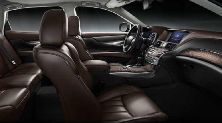 2016 Infiniti QX70 interior