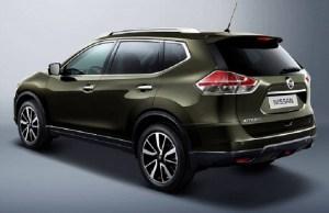 2016 Nissan x-trail rear view