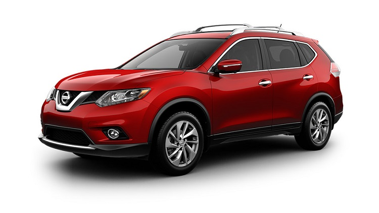 2016 nissan rogue front view
