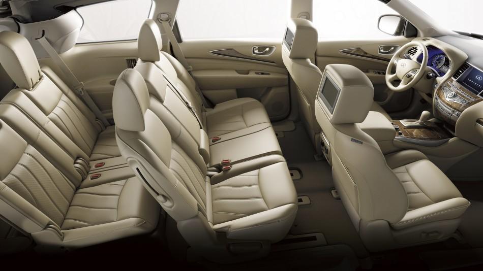 2015 Infiniti QX60 Hybrid interior