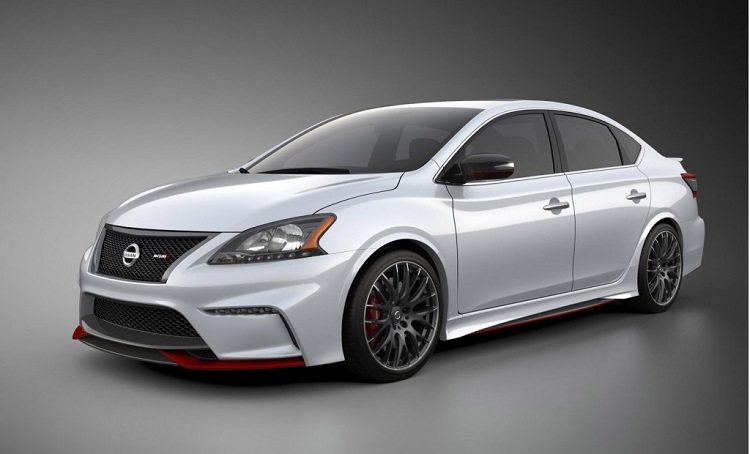2015 nissan sentra nismo front view