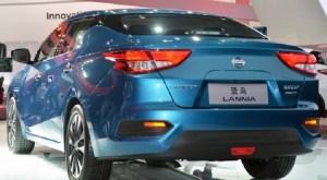 2016 Nissan Lannia rear view