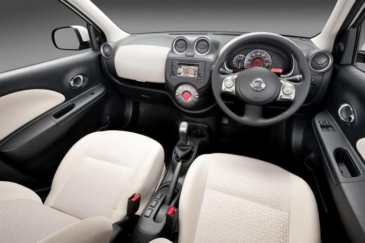 2016 Nissan Micra interior