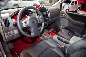 Nissan Frontier Diesel Runner interior