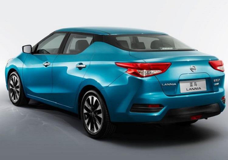 2017 Nissan Lannia rear view