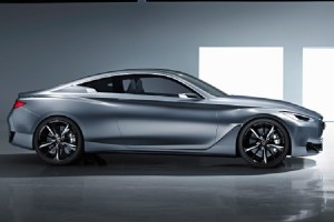 2017 infiniti q60 coupe side view