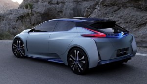 2018 Nissan Leaf rear view