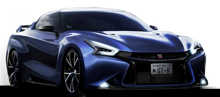 2018 nissan gt-r front view