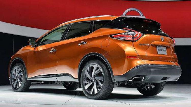 2018 Nissan Murano rear view