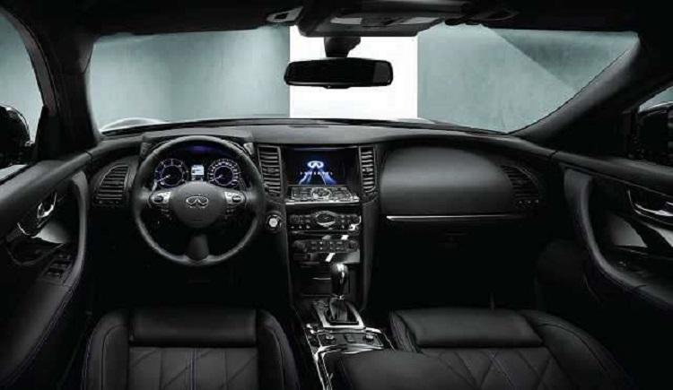 2018 Infiniti QX70 interior