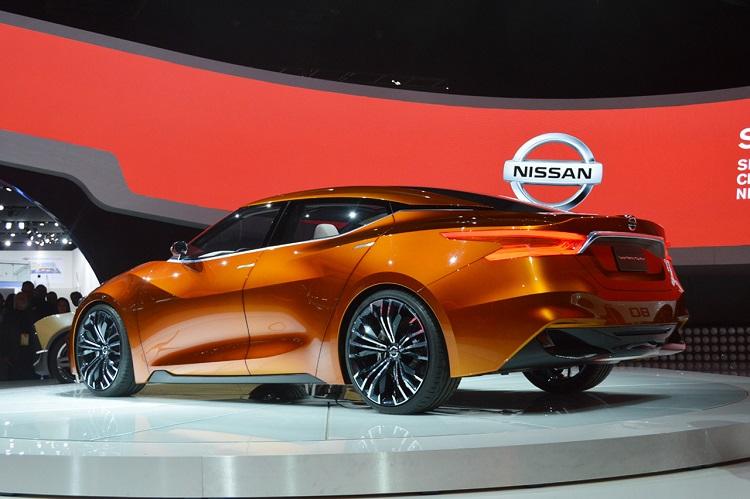 Nissan Sport Sedan rear view