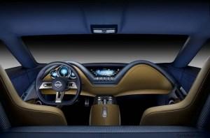 Nissan Esflow concept interior