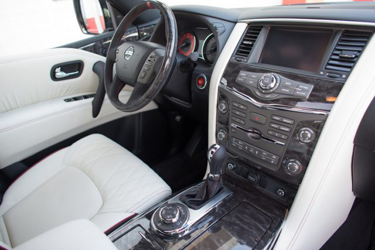 2018 Nissan Patrol cabin
