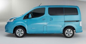 2018 Nissan NV200 side view