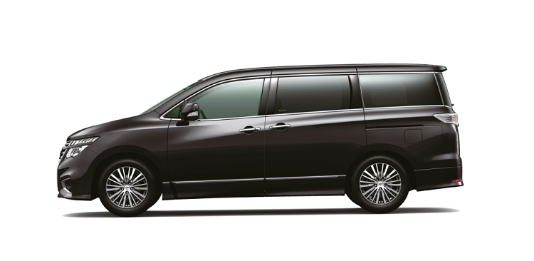 2018 Nissan Elgrand side view
