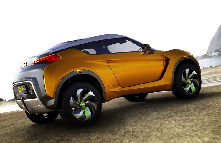 Nissan Extreme Concept rear view
