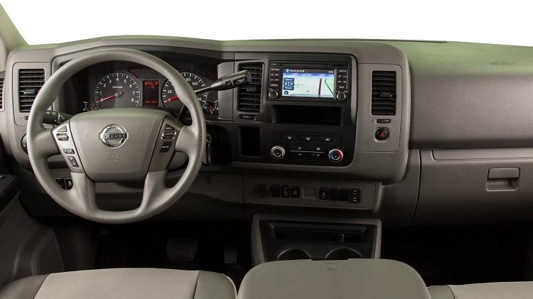 Nissan NV Cargo interior