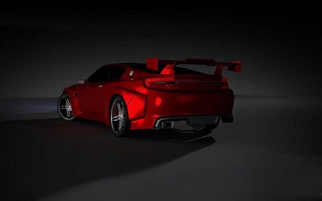 2019 Nissan Silvia rear view