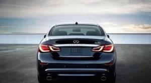 2019 Infiniti Q70 rear view