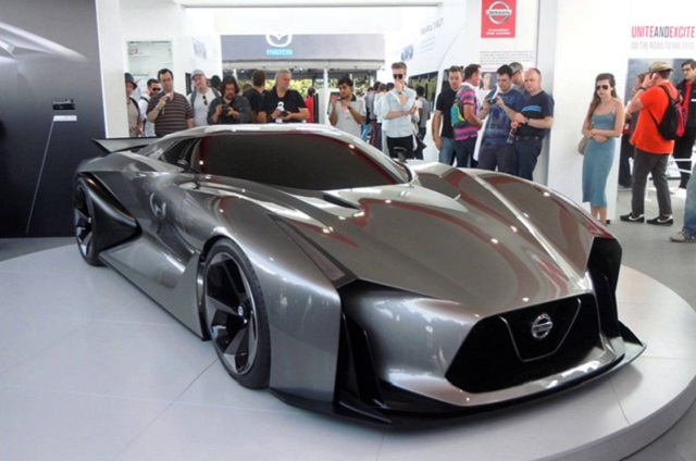 2019 Nissan GT-R Nismo front view