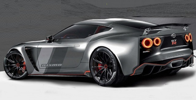 2019 Nissan GT-R Nismo rear view