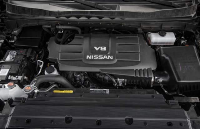 2019 Nissan Armada engine