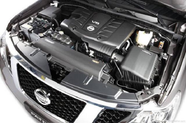 2020 Nissan Patrol engine
