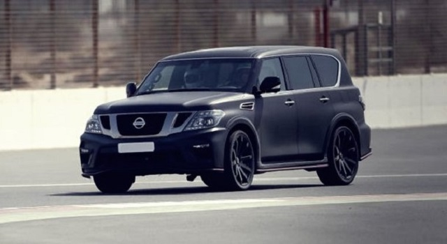 2020 Nissan Patrol front view
