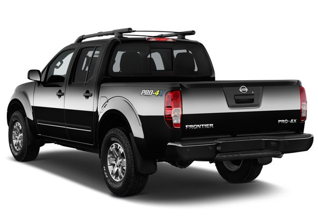 2020 Frontier Rear view