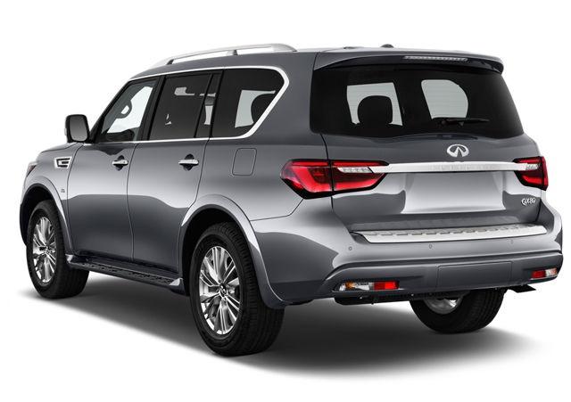 2020 QX80 rear