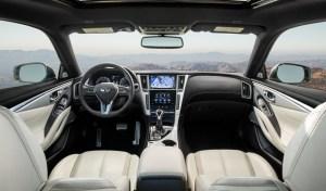 Infiniti Q60 Interior