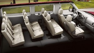 Nissan NV Passenger Interior