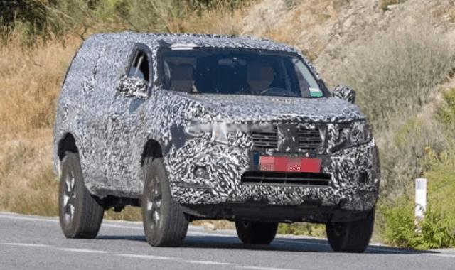 2021 Nissan Pathfinder Spy Shot