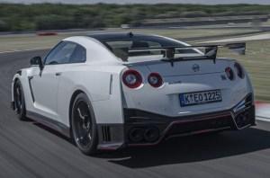 2021 Nissan GT-R rear