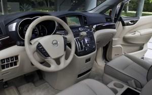 2021 Nissan Quest interior