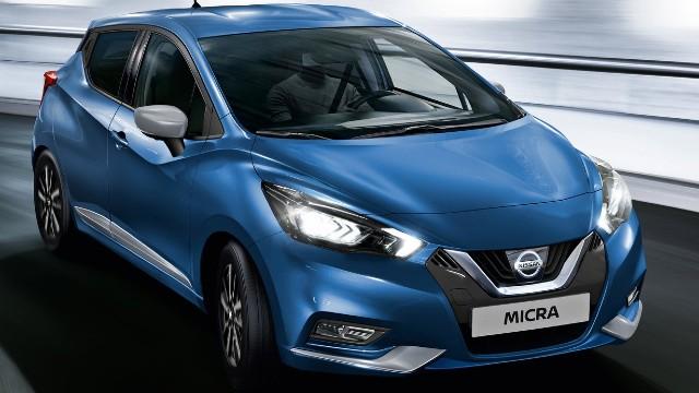 2022 Nissan Micra colors
