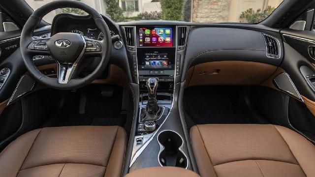 2022 Infiniti Q50 interior