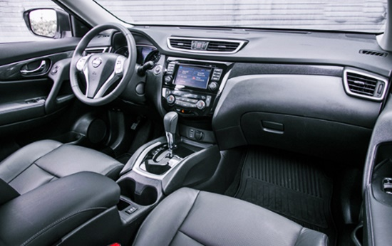 New 2021 Nissan Rogue USA Interior