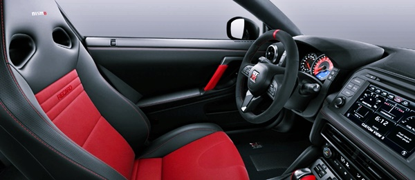 New 2021 Nissan GTR Nismo Interior