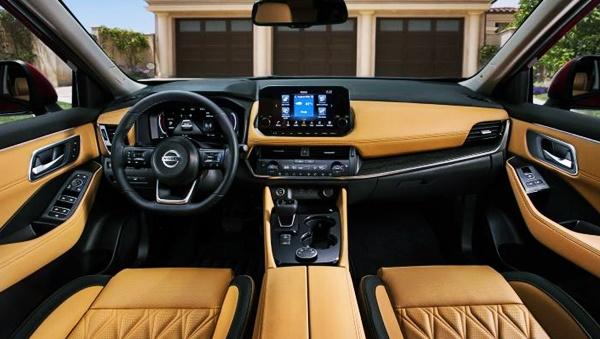 2022 Nissan Rogue Interior