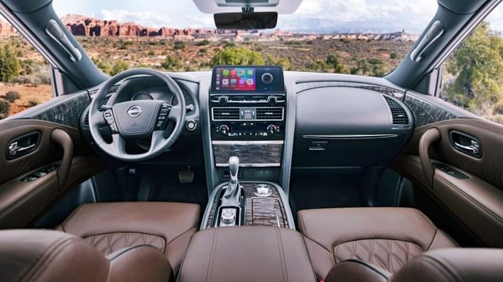2022 Nissan Armada Midnight Edition Interior