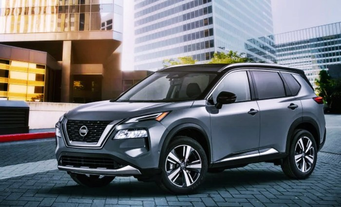 New 2022 Nissan Rogue Compact SUV AWD