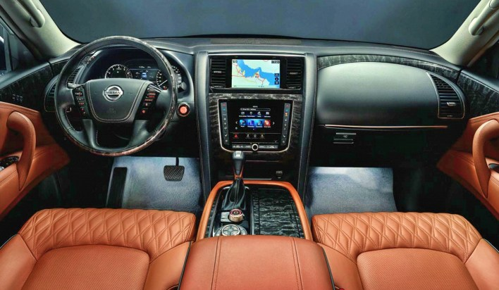 2023 Nissan Patrol Nismo Interior