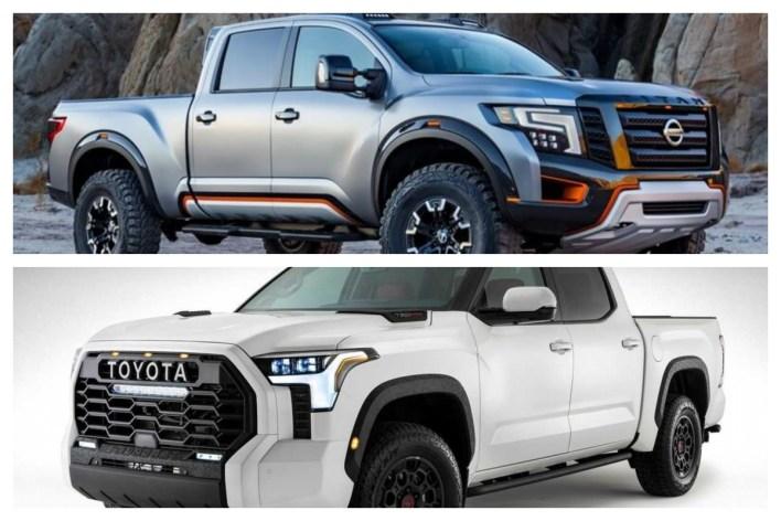2022 Nissan Titan vs. Toyota Tundra