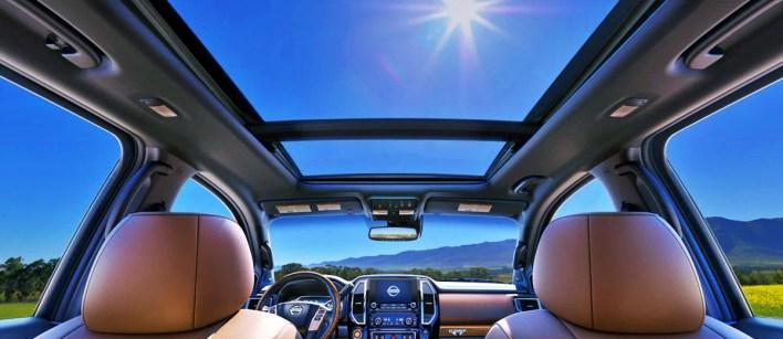 2023 Nissan Titan Pro 4X Interior
