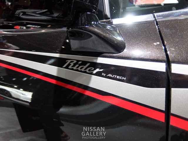 東京オートサロン2015 エルグランド ライダー ハイパフォーマンススペック ブラックライン