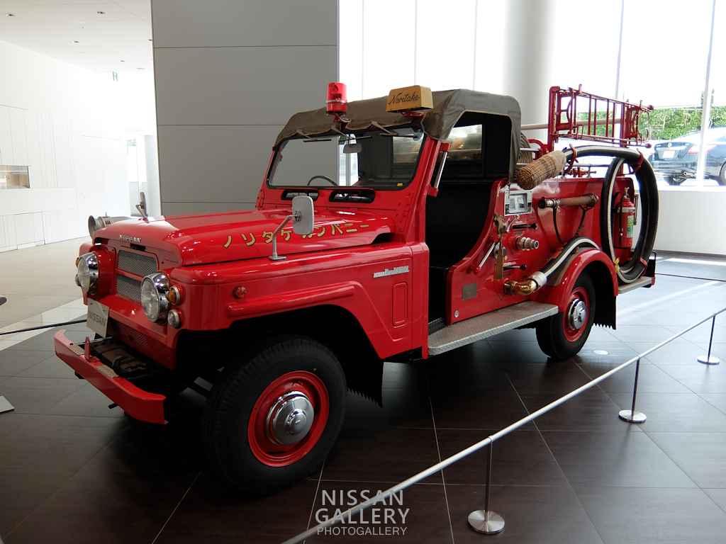 日産 パトロール 消防車