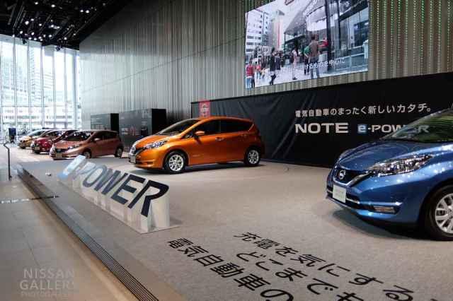 ノート e-power展示イベント