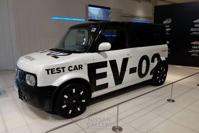 キューブ EVテストカー