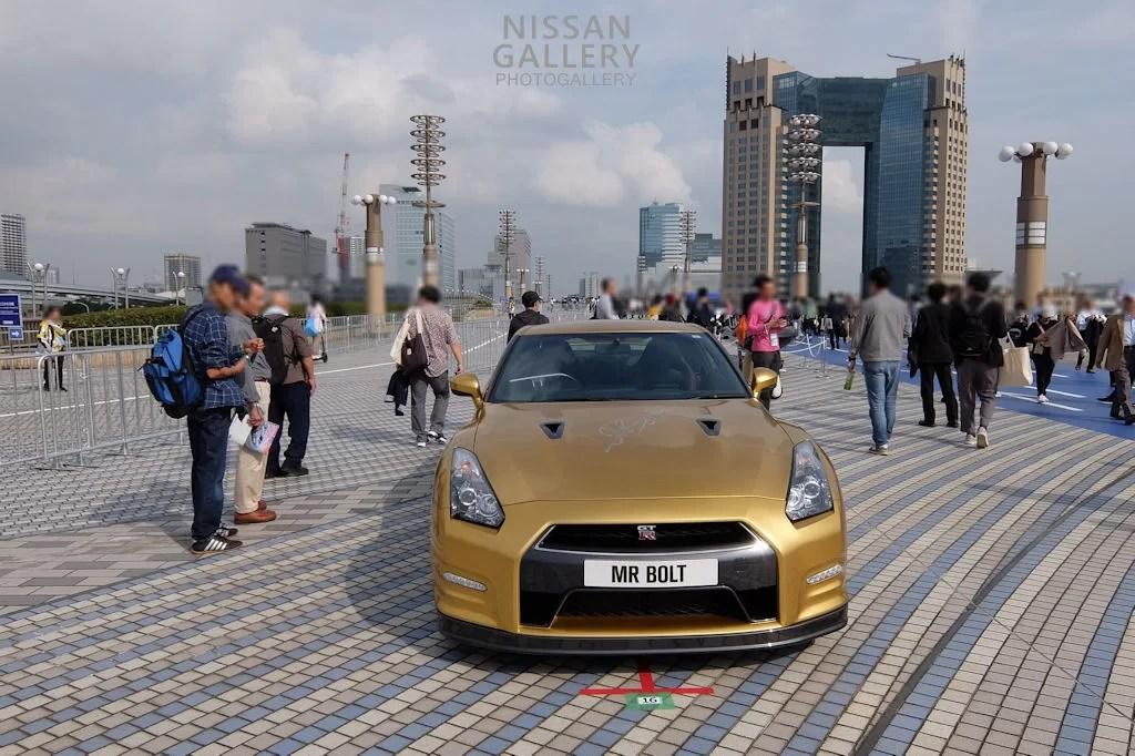 東京モーターショー2019 オープンロード NISSAN GT-R ボルトスペシャル
